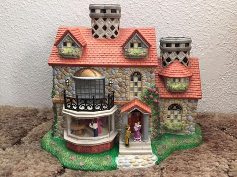 Partylite Olde World Village 3 Bristol House P7322 Tealight Candle Holder 2 With Images Tealight Candle Holders Tea Light Candles Tea Lights