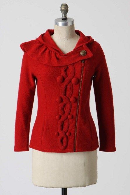 Monogram Looped Epaulet Pullover Sweater Size Medium Large NW ANTHROPOLOGIE Tag