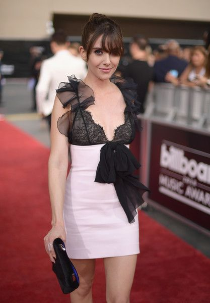 Actor Alison Brie attends the 2018 Billboard Music Awards at MGM Grand Garden Arena.