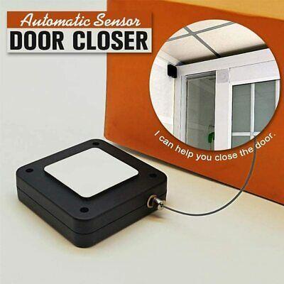 Punch Free Automatic Sensor Door Closer Automatically Close Door Closure For All Ebay In 2020 Closed Doors Automatic Door Fire Doors