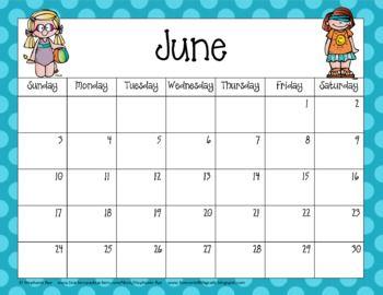 Calendario Coop 2020.School Year Calendar 2019 2020 School Preschool Calendar