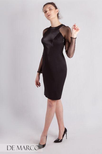 Seksowna Mala Czarna Sukienki De Marco Szyte Na Wymiar On Line Szycie Wesele Sukienka Businesswoman Luxury Outfits Little Black Dress Fashion