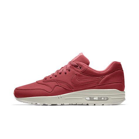 sports shoes ca49f 1668b Nike Air Max 1 Premium iD Men s Shoe Size 12.5 (Red)