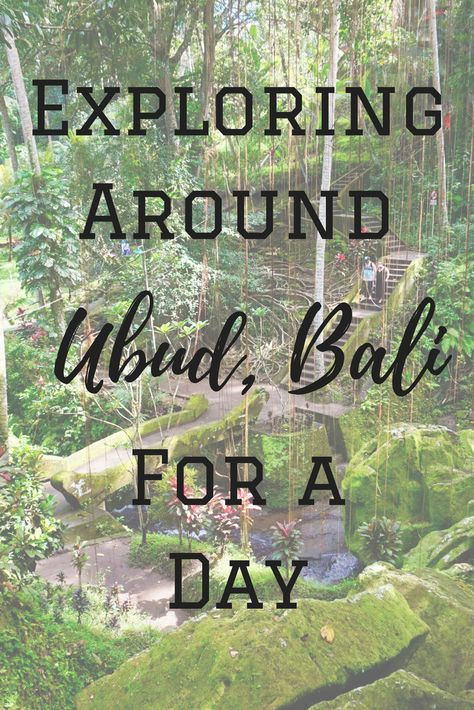 My travel buddy and I didn't know how to spend one of our free days in Ubud so we booked a day trip. Read all about exploring around Ubud, Bali!