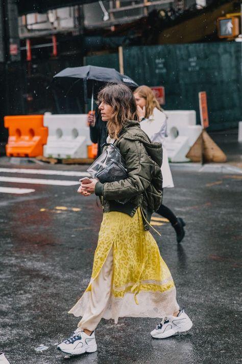 Street Style At Usa Fashion Fall