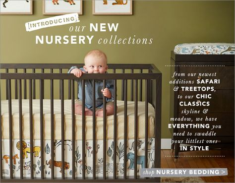 DWELLSTUDIO Dwell Studio Safari Animal Nursery Baby Crib Comforter Giraffe