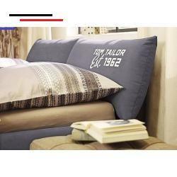 Inhomesalon Komfortables Polsterbett Soft Pillow Mit Formschonem Bettgestell Und Kopftei Polsterbett Ideen Zum Selbermachen Fur Zu Hause Wohungsdekoration