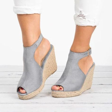 Material: Suede Lining Material: in 2020 | Faux suede heels