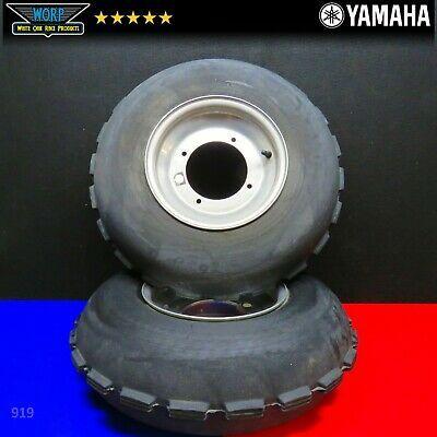 """DWT Red Label Polished Front Rim 10/"""" 10x5 2+3 4//156 Yamaha YFZ450 Banshee Raptor"""