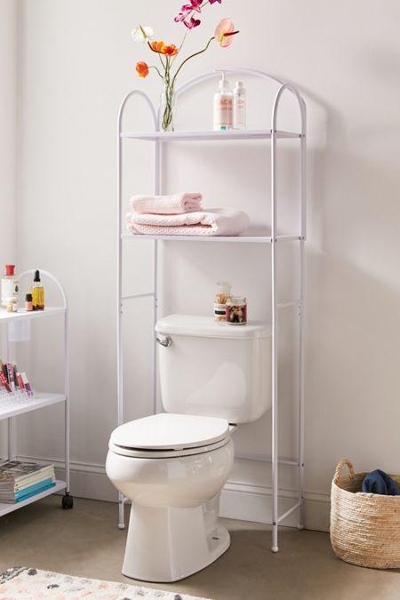 Devon Bath Leaning Storage Rack Toilet Storage Storage Shelves Metal Storage Shelves