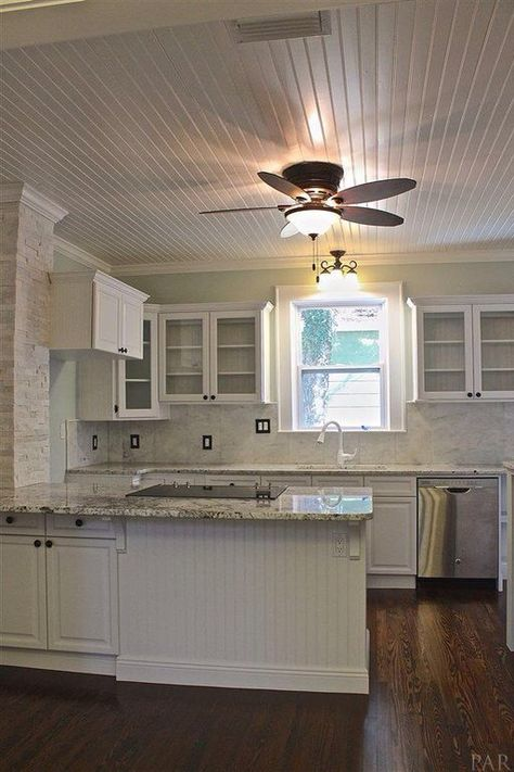 Alaskan White Granite Sherwin Williams Sea Salt On Walls Granite Countertops Kitchen White Granite Countertops White Cabinets White Countertops
