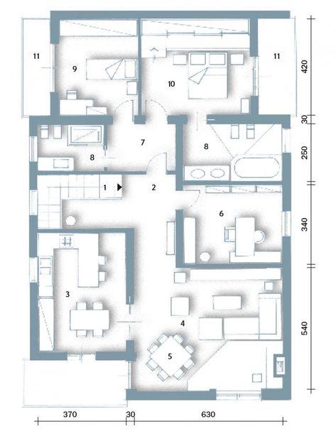 Una casa moderna su livelli sfalsati nel 2020   Casa ...
