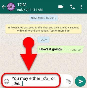 Whatsapp Font Style Bold Italic Strikethrough Fixedsys Etc Howtomob Iphone Hacks Font Styles Instagram And Snapchat
