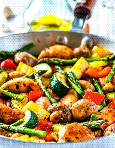 Italian Chicken Skillet Minute Dinner Clean Crush Idea Food One Pan New Is 20 A One Pan Italian Chi Healthy Dinner Recipes Dinner Recipes Dinner