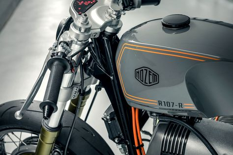 Bmw Garage Amsterdam : Title fighter a bmw r neo racer from nozem amsterdam boxer