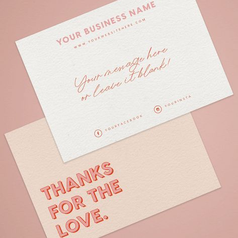 Thank you for your order cards Business Stationery Business Stationery Business, Stationery Design, Business Branding, Business Card Design, Branding Design, Corporate Design, Identity Branding, Corporate Business, Design Agency