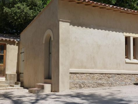 façade chaux enduit extérieur בתים Pinterest Facades and Outdoors