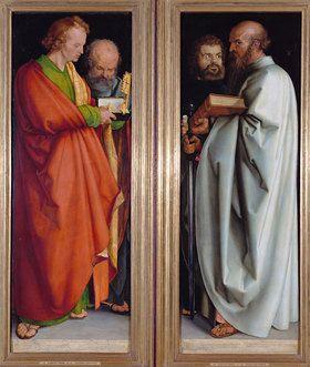 die vier apostel johannes ev petrus markus paulus von albrecht durer kunstdruck bildergipfel de albrecht durer famous art albrecht durer pinterest