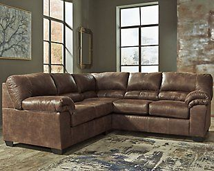 Sectional Sofas Ashley Furniture Homestore In 2020 Fabric Sectional Sofas Faux Leather Sectional Furniture