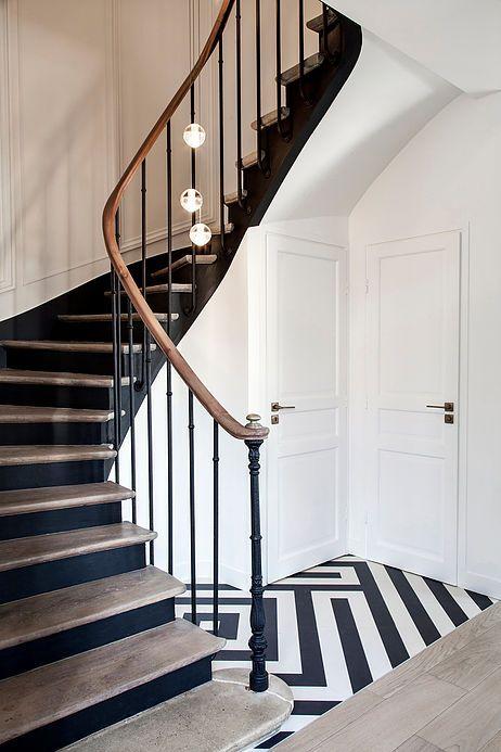 Epingle Par Clarke Sur Entree Balustrade Escalier Escaliers