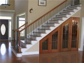 54 Super Ideas For Open Basement Stairs Ideas Wine Cellar Stairs