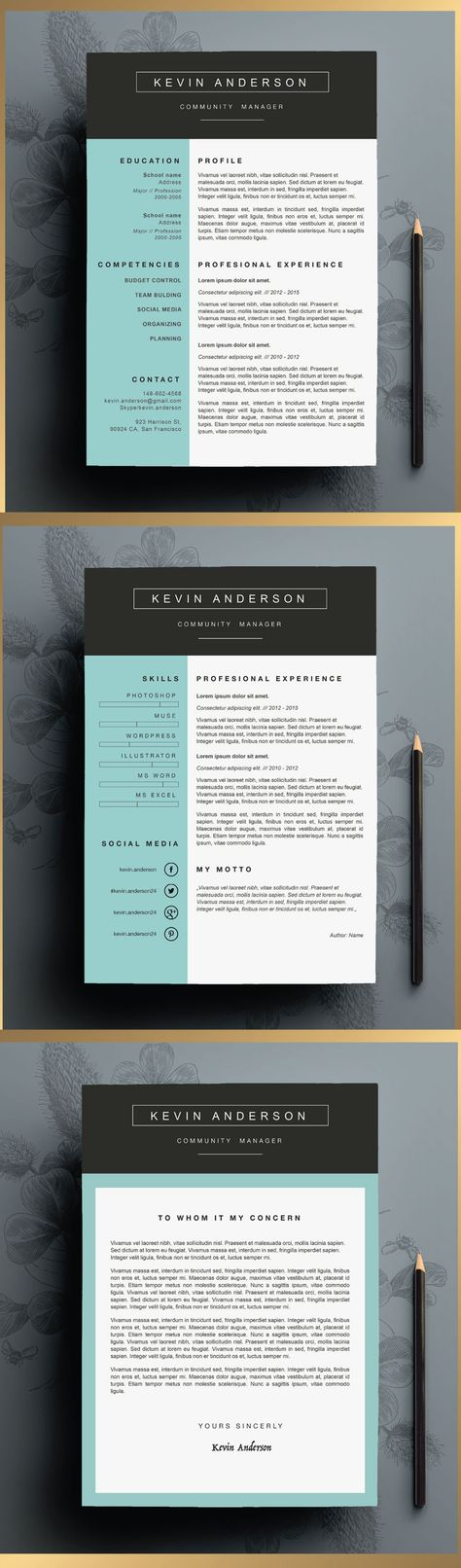9 best images about Resume on Pinterest Icons, Template and Free - publisher resume sample