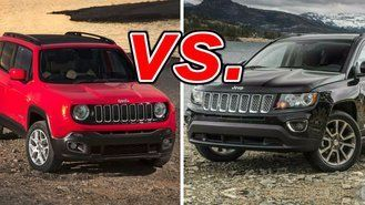 Great Jeep Renegade Vs Jeep Compass