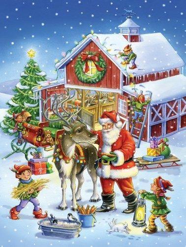 Christmas Eve 2020 Vt Vermont Christmas Company Ready Reindeer Jigsaw Puzzle 550 Piece