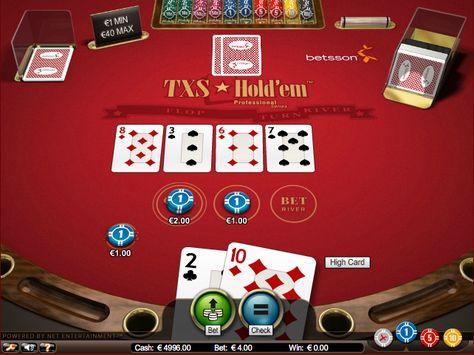 онлайн техасе играть бесплатно в в покер
