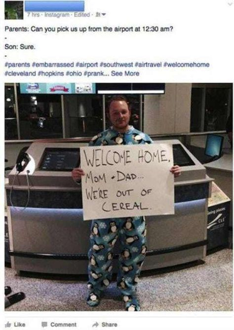Cereal Killer is listed (or ranked) 5 on the list Amazingly Epic Airport Pickup Signs