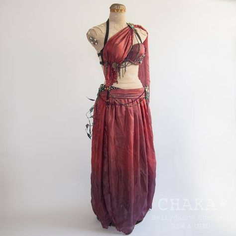 Anime Outfits, Mode Outfits, Fashion Outfits, Noter Dame, Fantasy Costumes, Fantasy Dress, Belly Dance Costumes, Tribal Fusion, Character Outfits