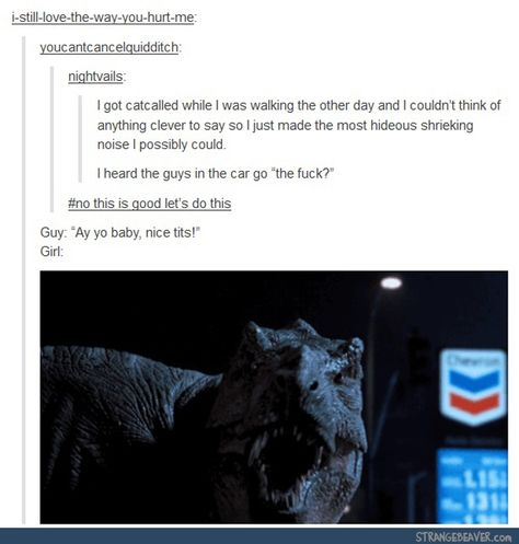 How to respond to catcalling (Funny tumblr post)