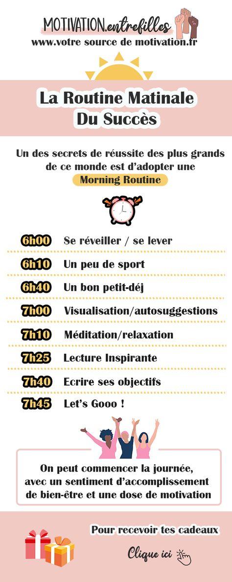 La Routine Matinale Du Succès - Morning Routine - Votre Source de Motivation