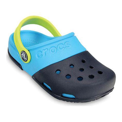 2d2ede559 Children s Crocs Electro II Clog - Navy Electric Blue Clogs ...