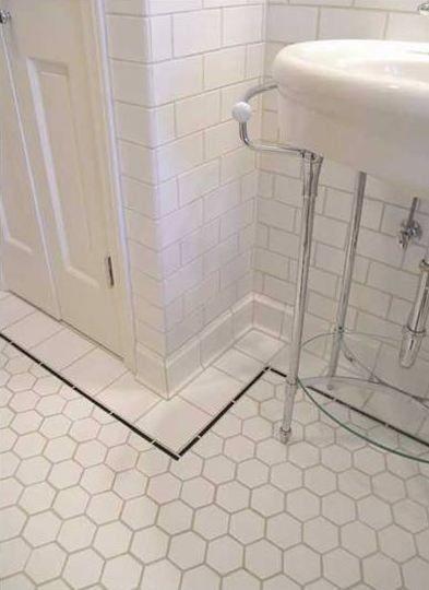 Hexagon Tiles Vintage Bathroom Tile Classic Bathroom Tile Classic Bathroom