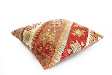 The Pillow Kussen : Kilim pillow decorative pillow turkish pillow kilim pillow