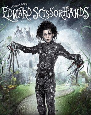 Edward Scissorhands Poster With Images Edward Scissorhands