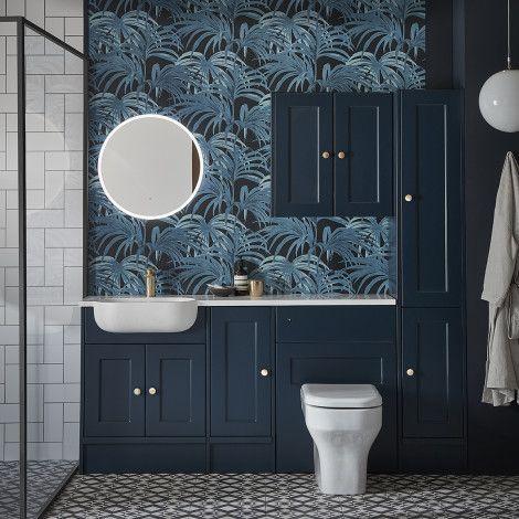 Burford Derwent Blue Fitted Furniture Roper Rhodes Bedroomfurnitureunits With Images Fitted Bathroom Furniture Bathroom Furniture Fitted Bedroom Furniture