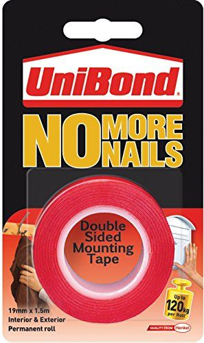 Henkel No More Nails 1 5m On A Roll Perm Henkel Mounting Tape Strong Tape Double Sided Mounting Tape