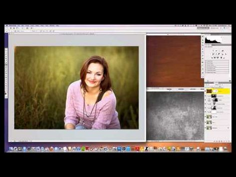 how to add textures to photos in photoshop