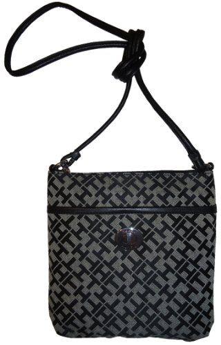 d7bd775538f Women's/Girl's Tommy Hilfiger Small Xbody/Crossbody Handbag (Black Alpaca)