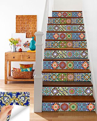 Details About Kitchen Decals Tile Stickers Vinyl Wall