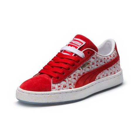 puma mujer suede hellow kity