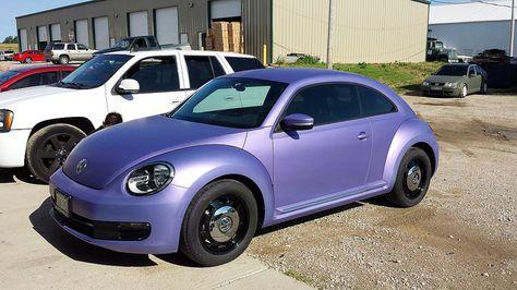 Matte Metallic Purple 2012 Beetle Purple Matte Metallic Beetle