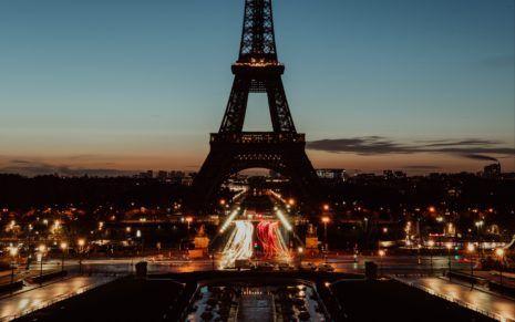 Paris Tower Hd Wallpaper Eiffel Tower At Night Eiffel Tower Paris Tower