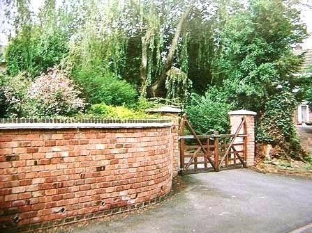 Front Garden Brick Wall Designs Garden Bricks Walls Brick Garden Wall Brick Laminate Picture Brick Garden W Brick Garden Brick Wall Gardens Garden Wall Designs