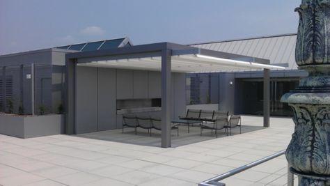 Coole Terrassenüberdachung Ideen - extravagante Designs aus aller - auswahl materialien terrassenuberdachung
