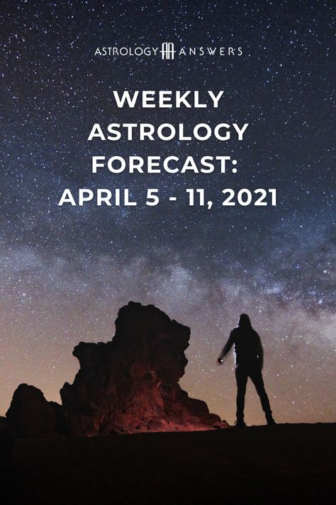 This week's astrology forecast brings us a New Moon in Aries on April 11th, along with several other exciting lunar transits! #astrology #astrologyanswers #weeklyastrology #weeklyforecast