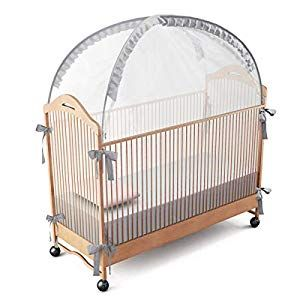 Runnzer Baby Crib Safety Pop Up Tent Crib Net To Keep Baby In Crib Canopy Cover To Keep Baby From Climbing Out Crib Bedding Crib Bedding Sets Kids Bed