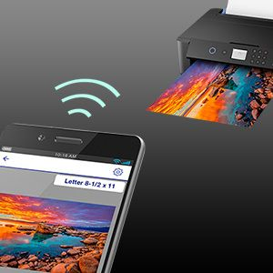 Ultimate Wireless And Wired Connectivity Color Photo Printer Wide Format Printer